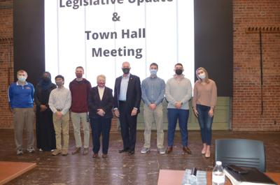 Town hall participants