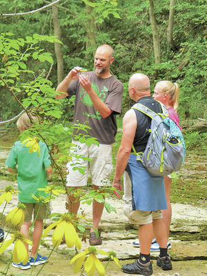 Nature preserve recess: engage your young hiking companions