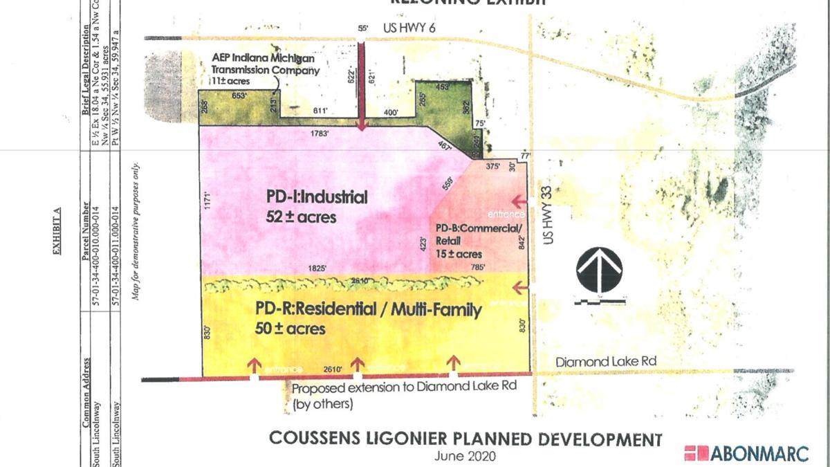 Ligonier rezones annexed property to entice developers