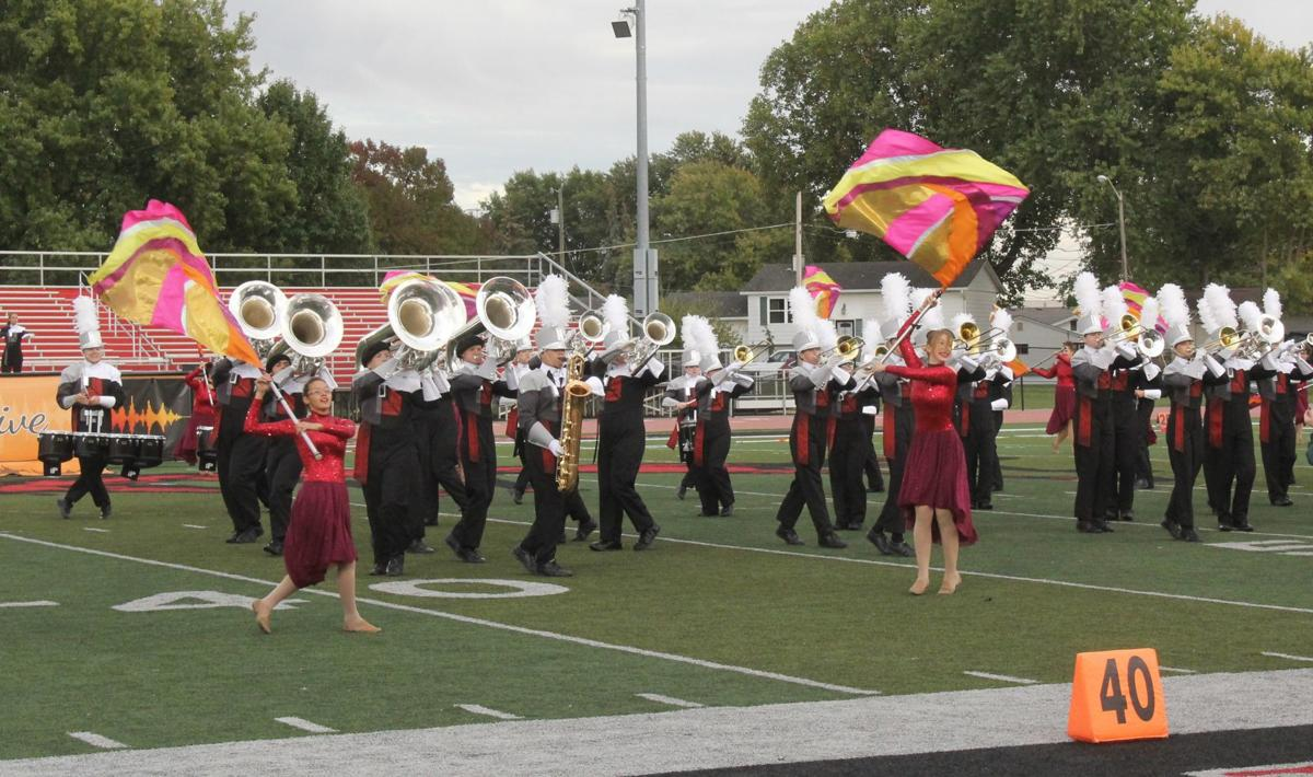 DeKalb Baron Brigade performs at regionals
