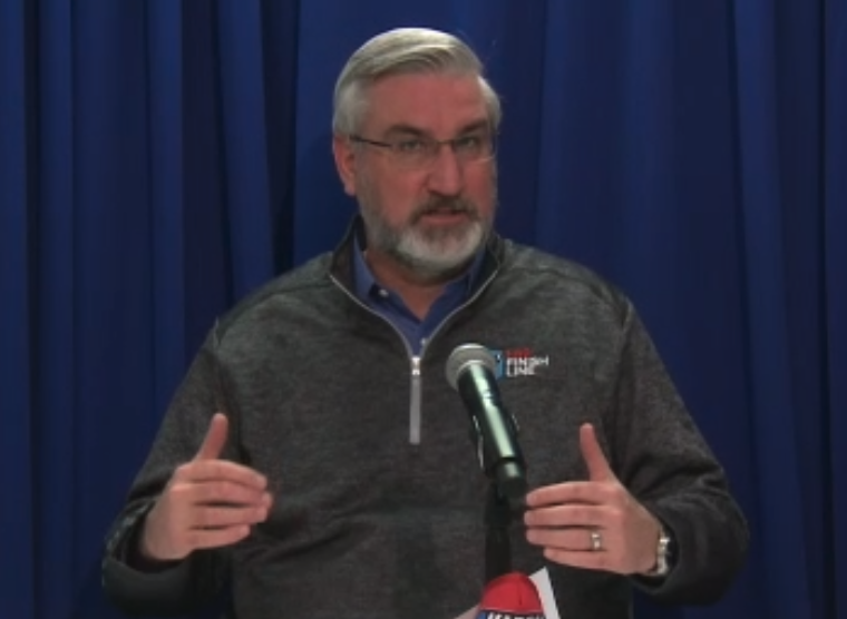 Holcomb keeping COVID-19 guidelines in place for another month
