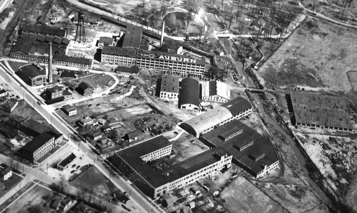 Auburn Automobile Co. in 1930s
