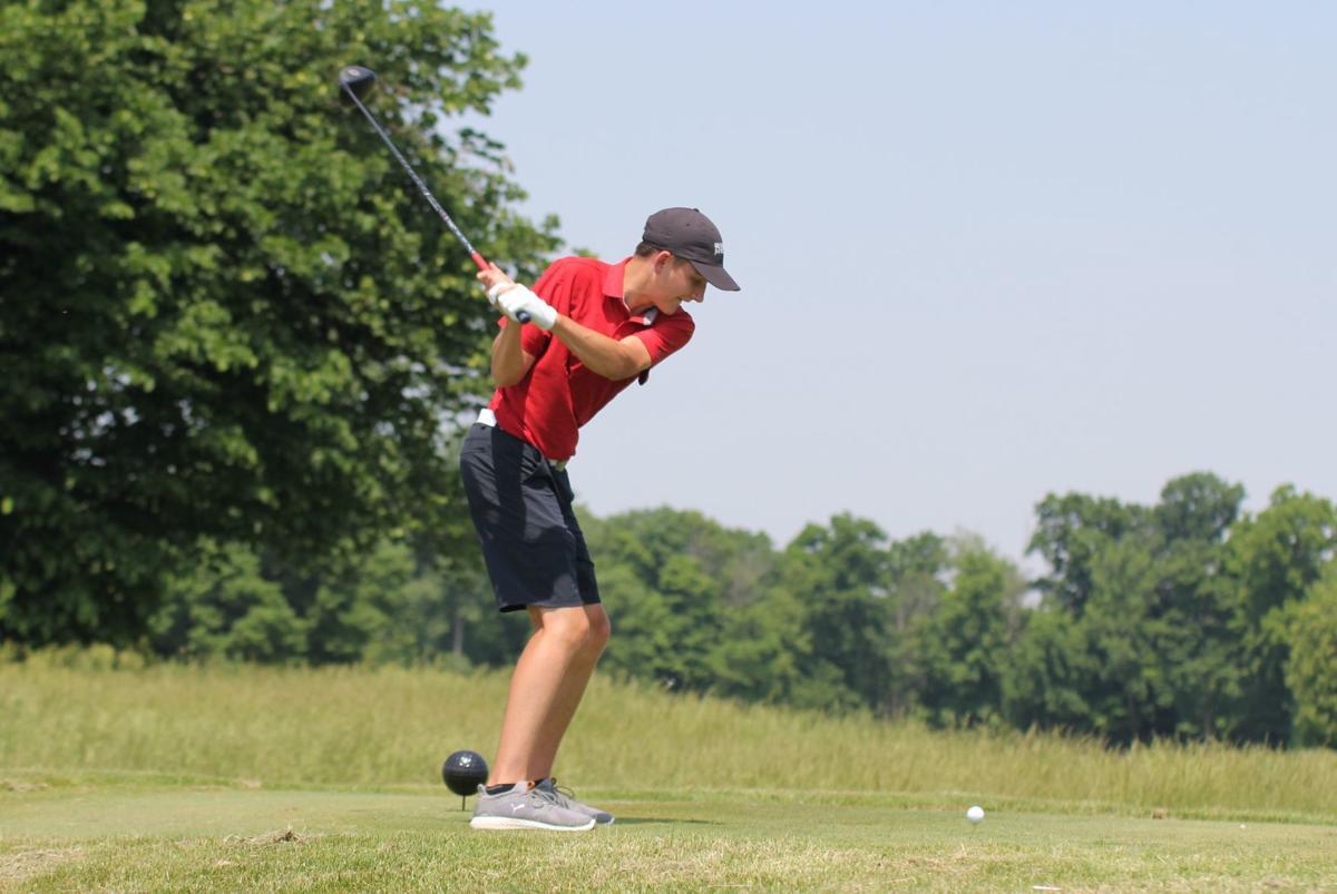 Area golfers fall short: DeKalb's Schenk shoots 76