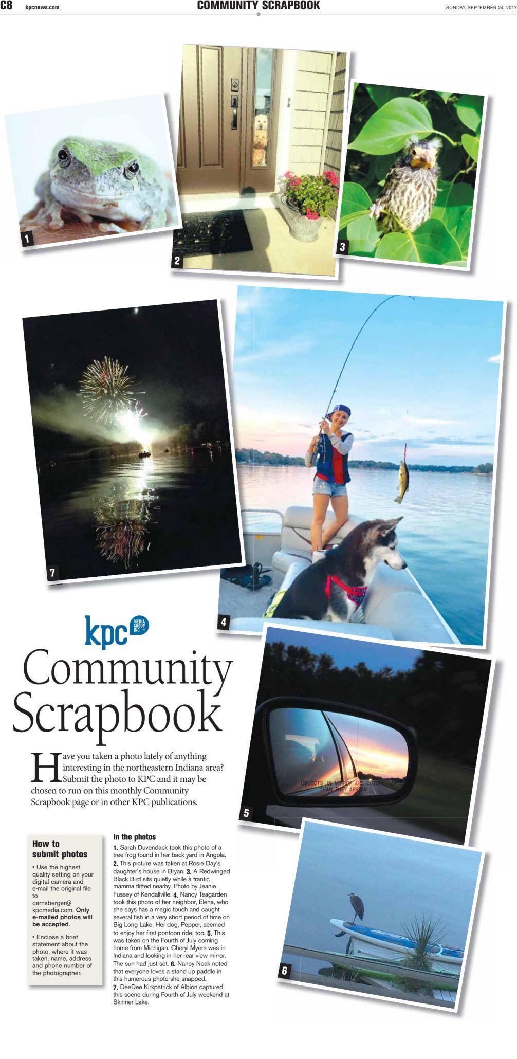 September 2017 Community Scrapbook