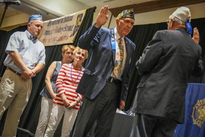 Connelly sworn in as new American Legion State Commander
