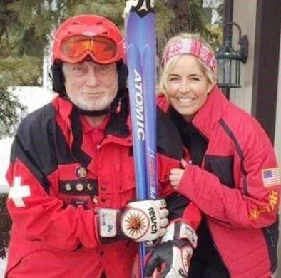 Ski racing inspiration