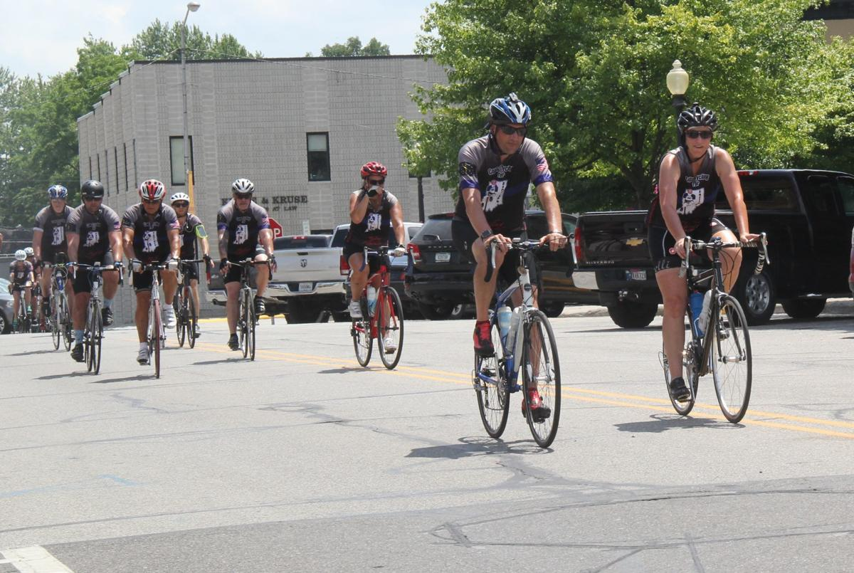 Cops Cycling tour stops in county