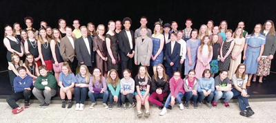 Middle school presents 'Singin' in the Rain Jr.'