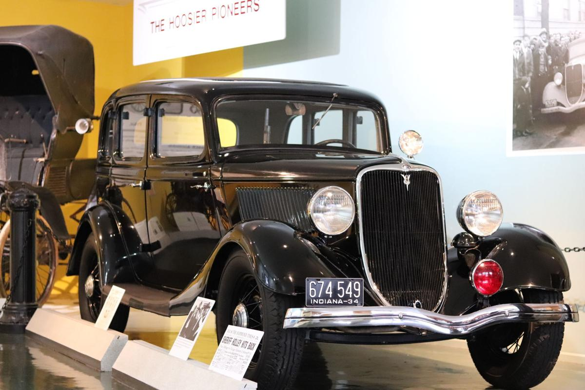 1933 Ford stolen by Dillinger goes on display