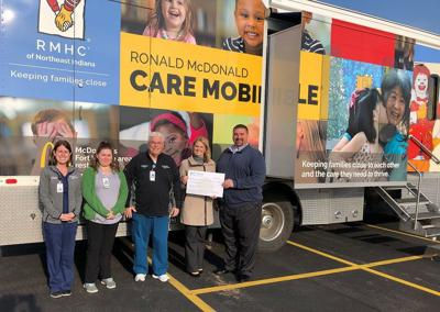 Medical vehicle receives $12,000 grant