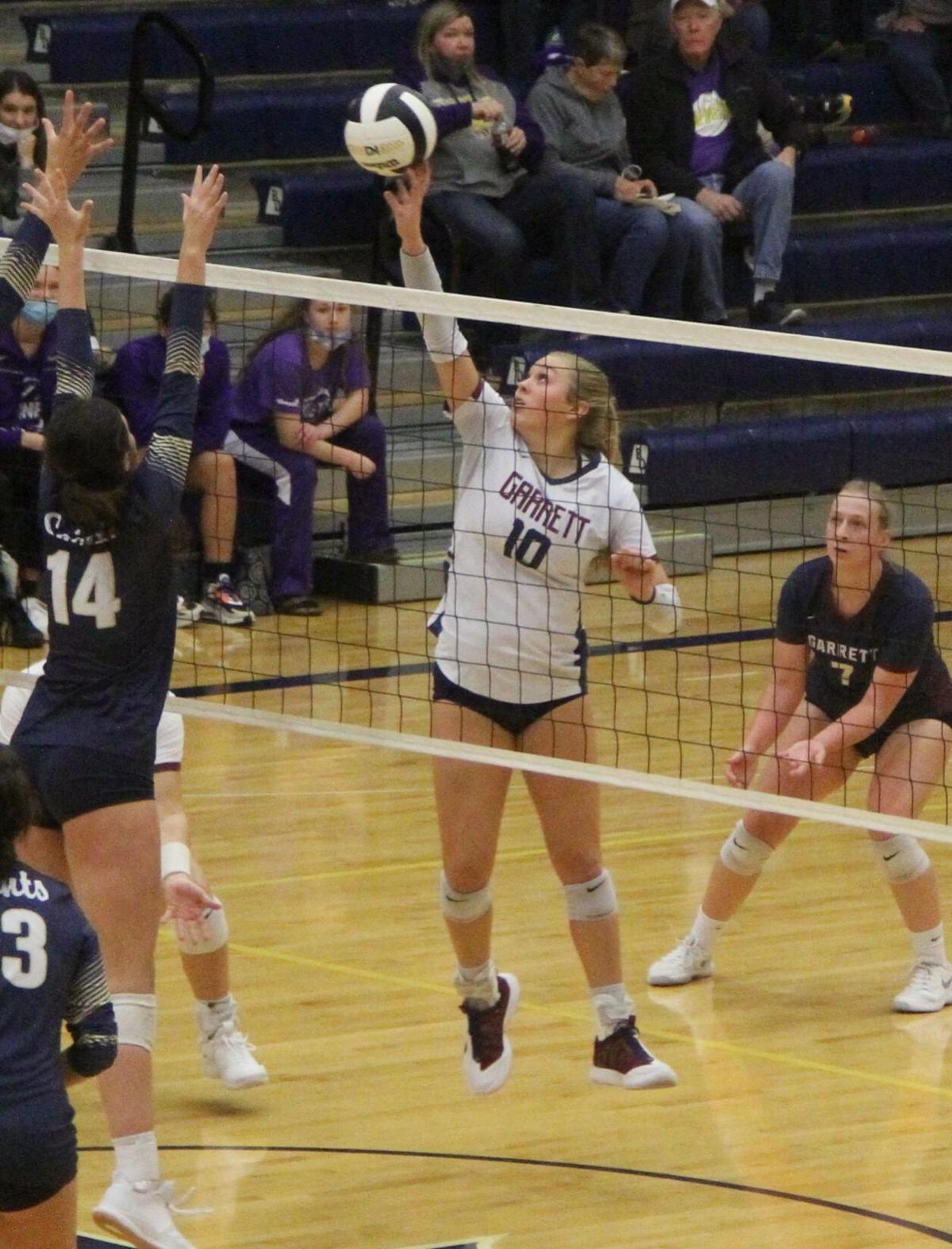 Garrett's volleyball season comes to an end