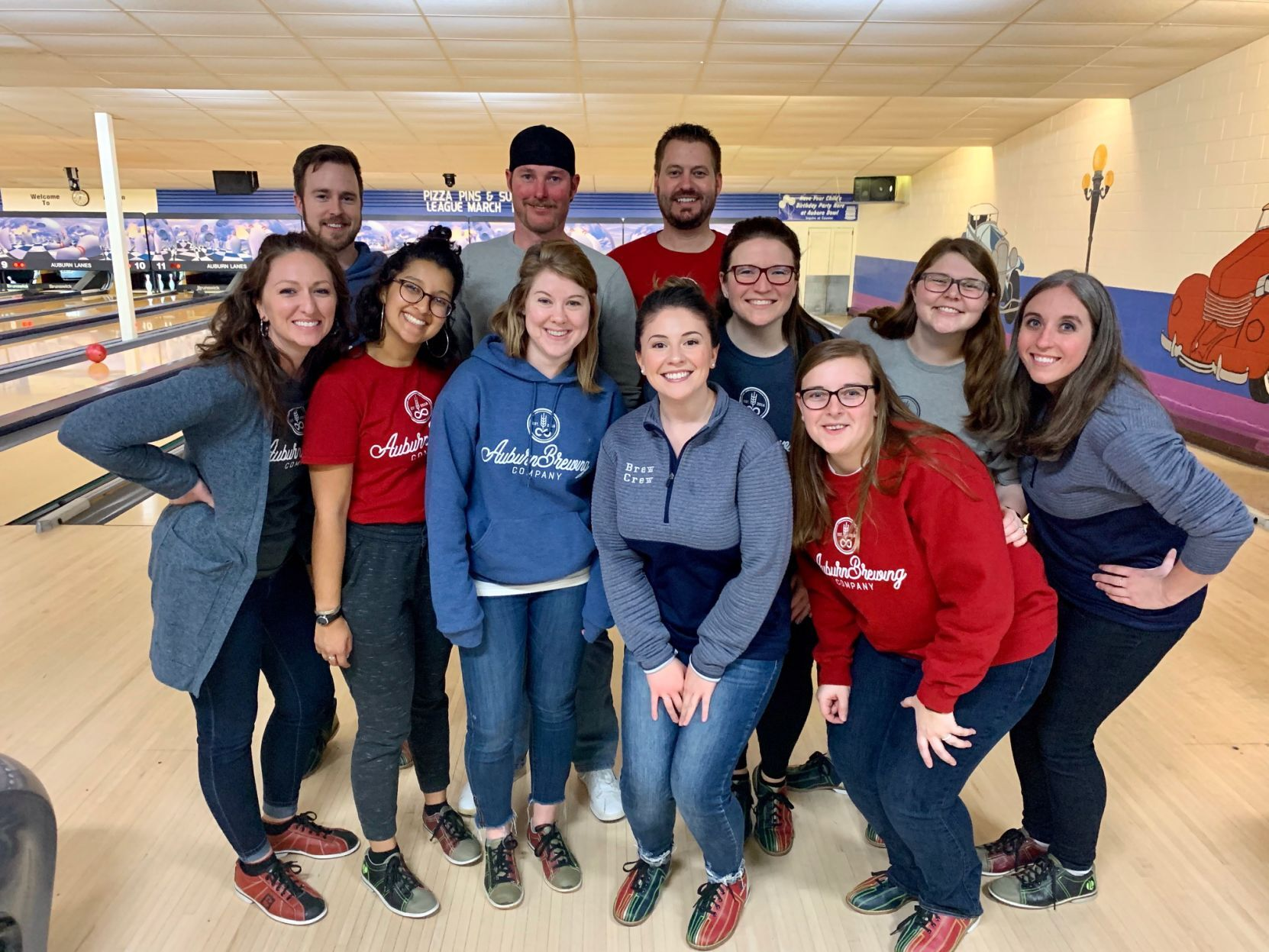 Bowling teams spare time for BBBS fundraiser
