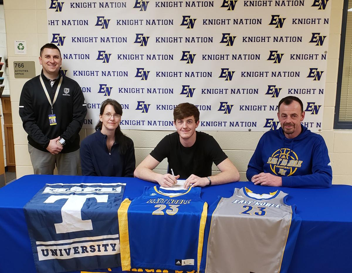 Cox commits to Trine basketball