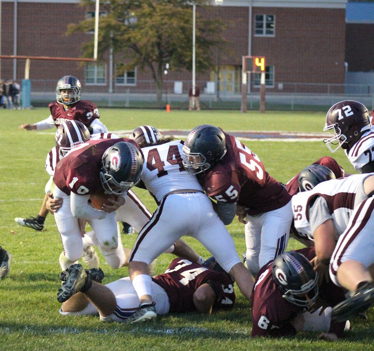 Railroader touchdown
