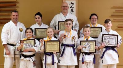 Franz Karate award winners