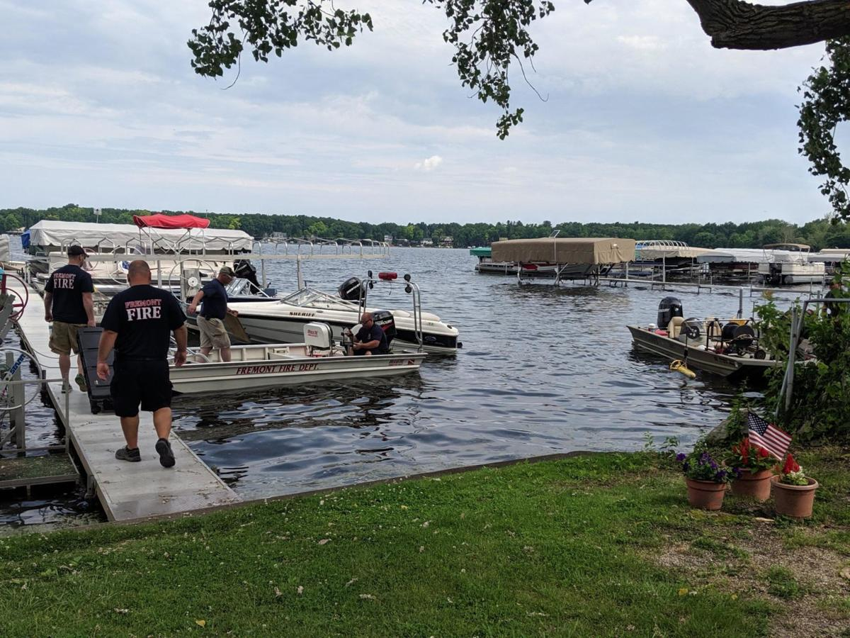 Conservation Officers searching Clear Lake for missing wakesurfer