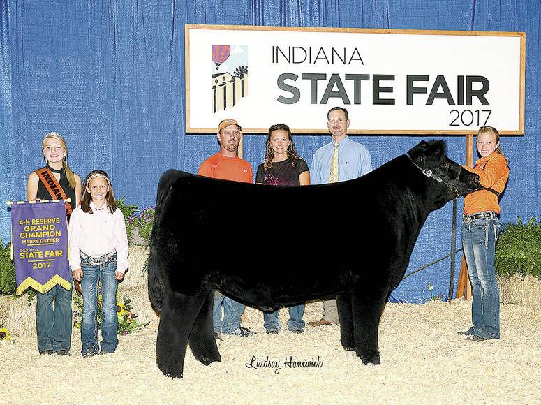 Henney takes reserve grand in Indiana State Fair beef   News