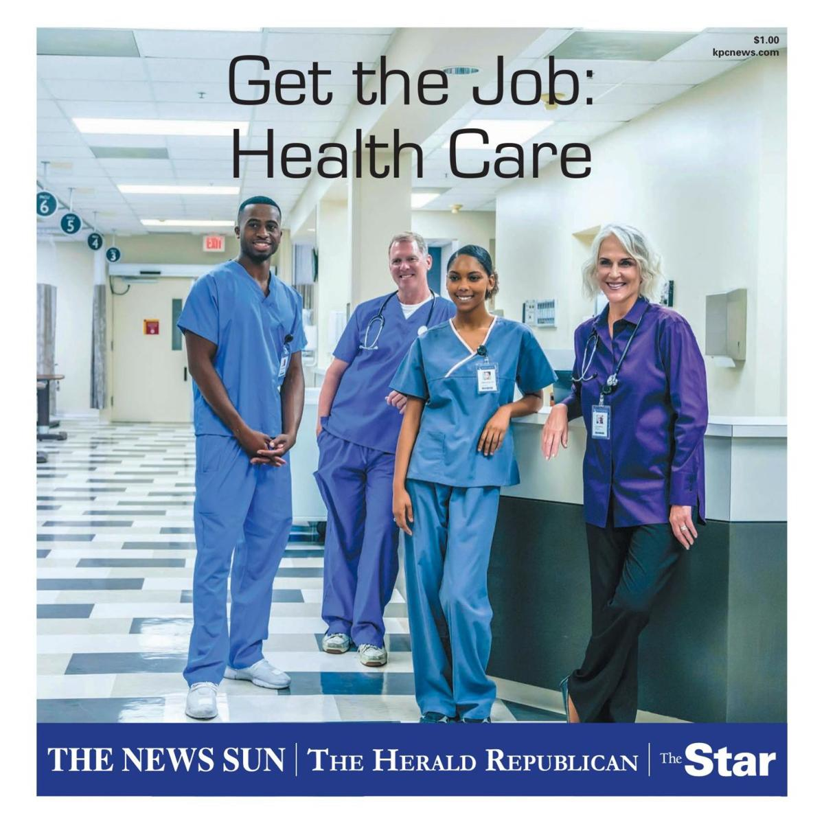 Get the Job: Health Care August 2019.
