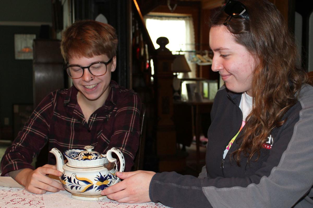 Vifa McBride and KayLee Blum