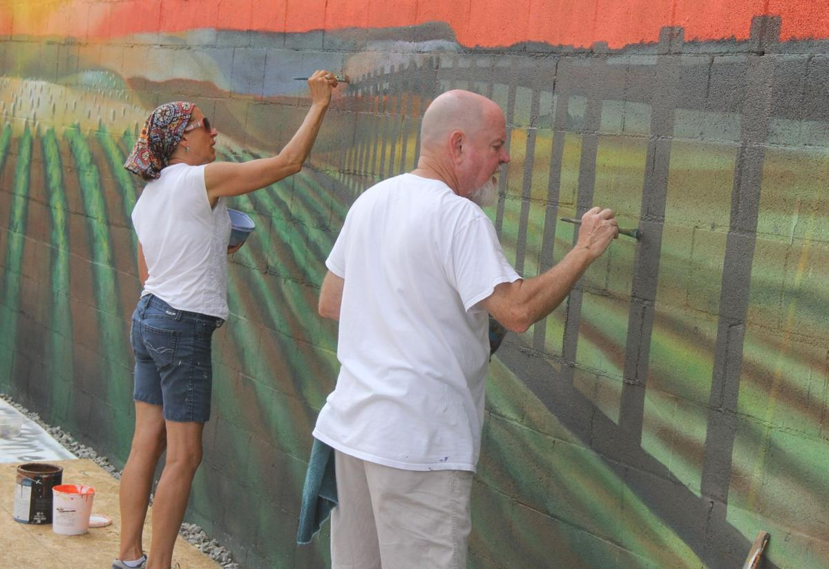 Details are the key in their murals