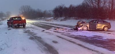 US 6 Crash Near Corunna