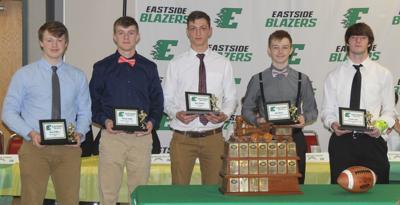 Eastside football team awards