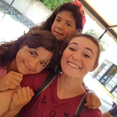 Student teaching in Mexico