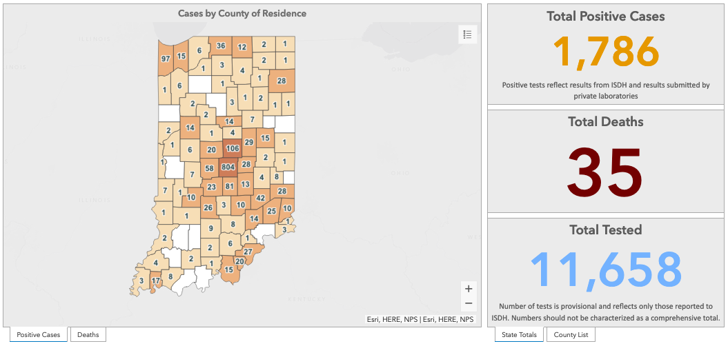 Majority of Indiana COVID-19 deaths are older Hoosiers