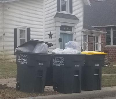 Noble County Disposal cans