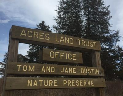 ACRES Land Trust office sign
