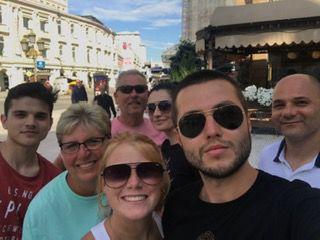 Gura family with Boris