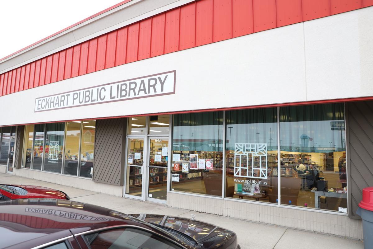 Auburn Plaza temporary library