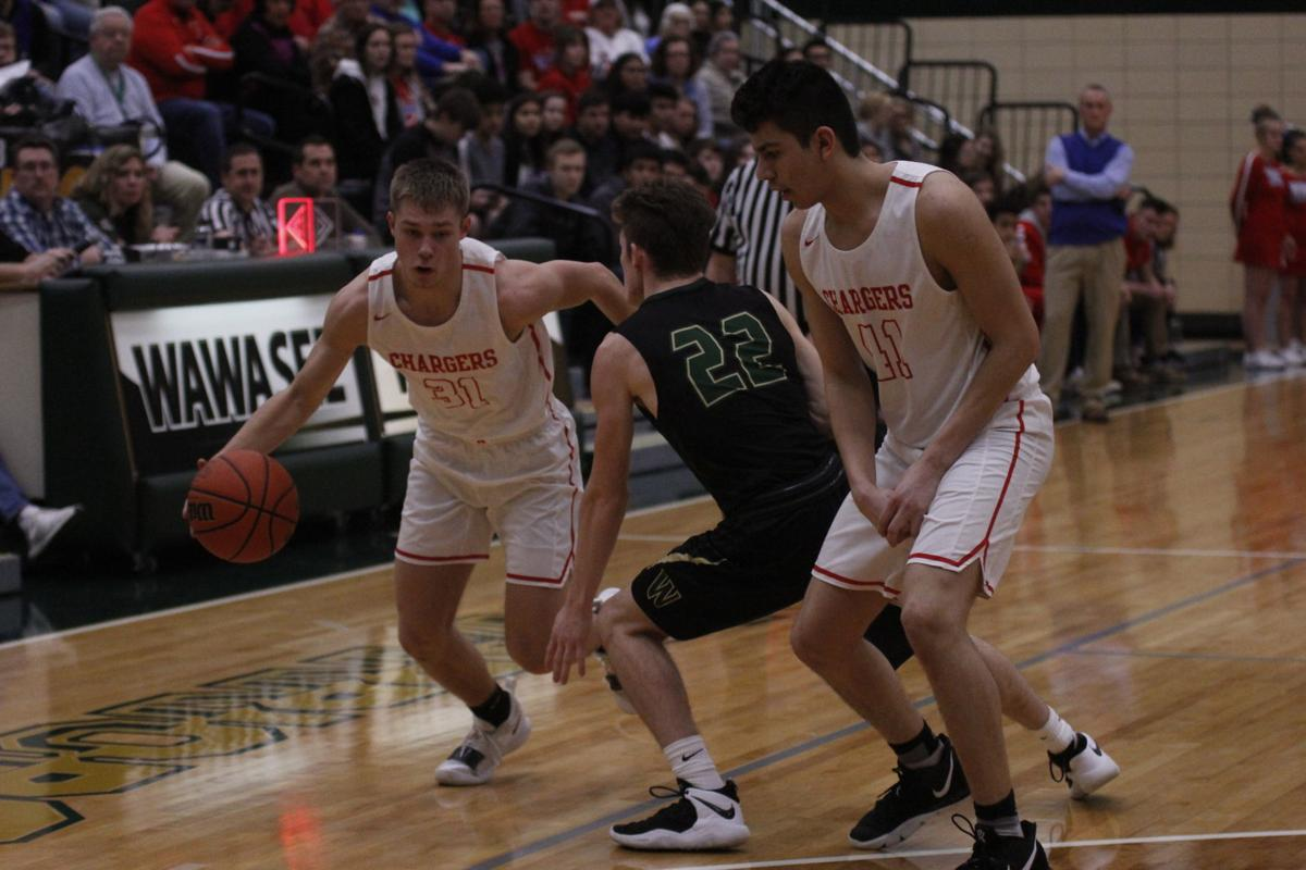 West Noble basketball