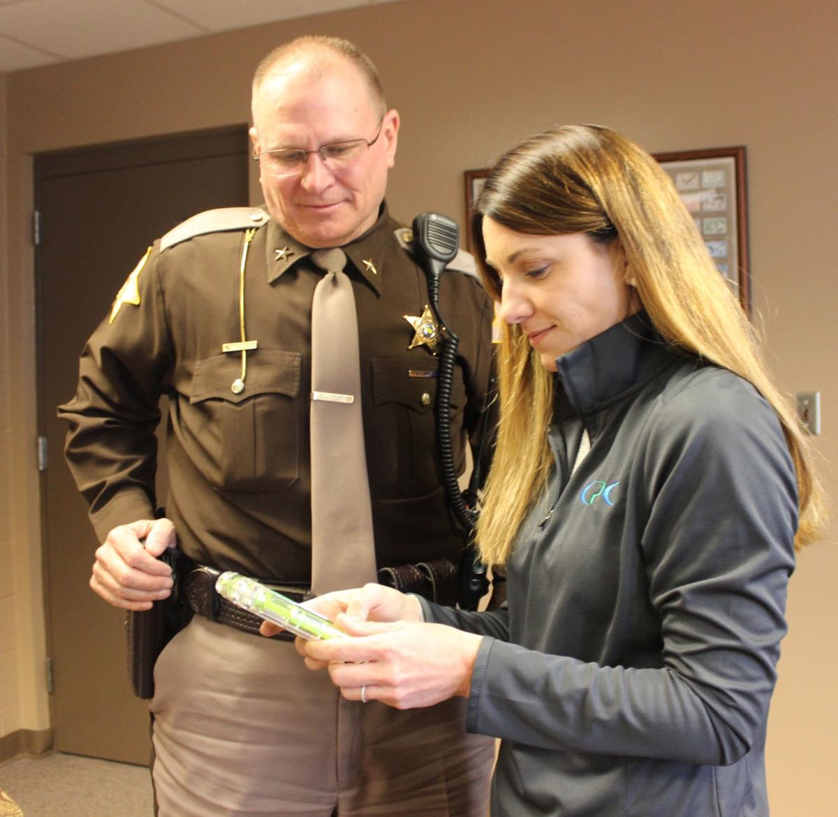 where r u? — jail: Noble County goes live with texting devices for