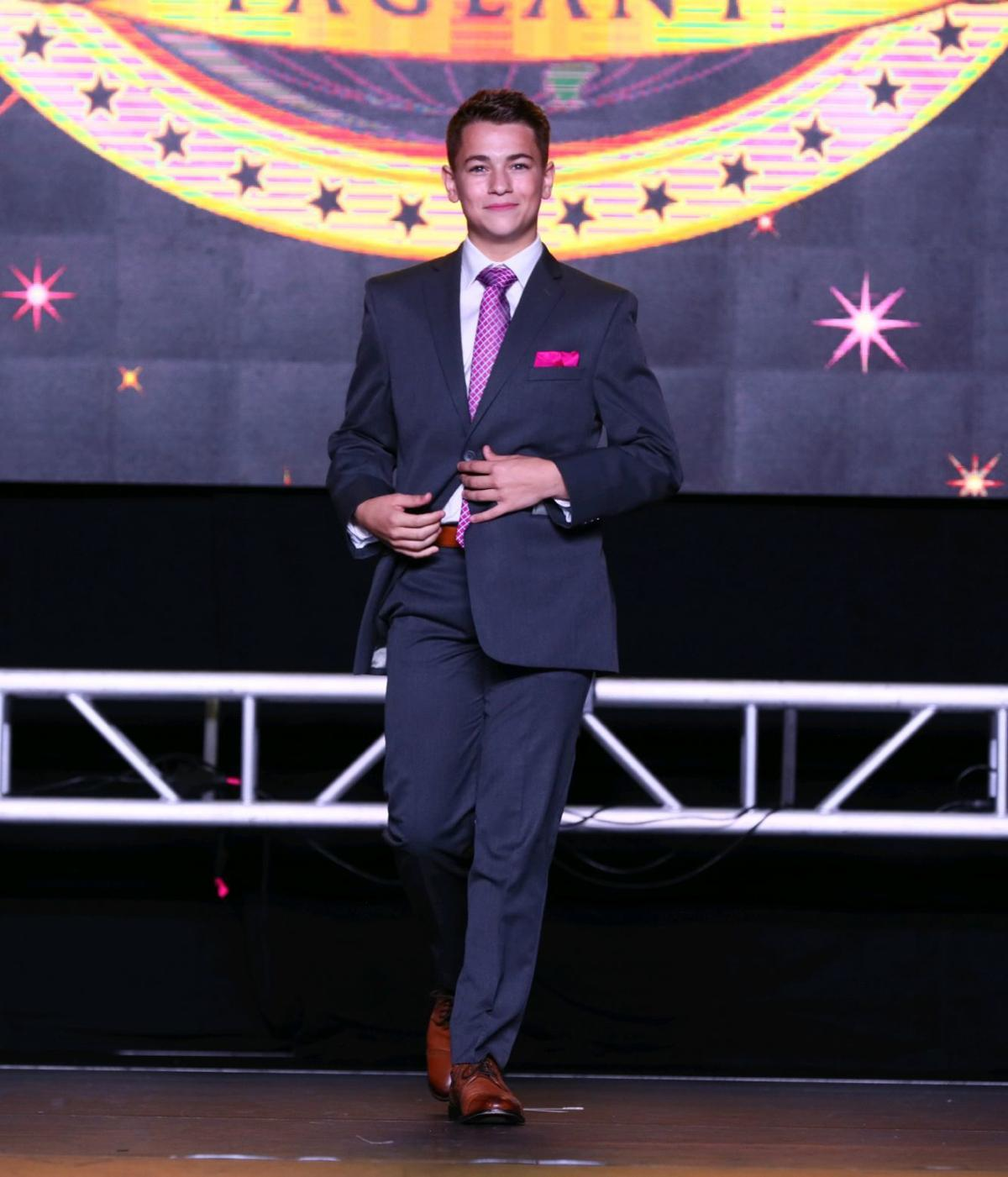 Bryson Hickman at World Dance competition