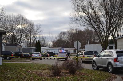 Shooting scene in Kendallville