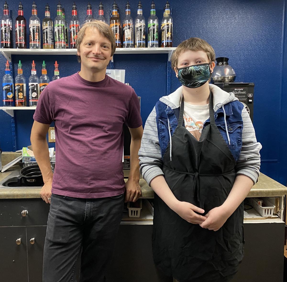 Cahoots: Adamson and barista