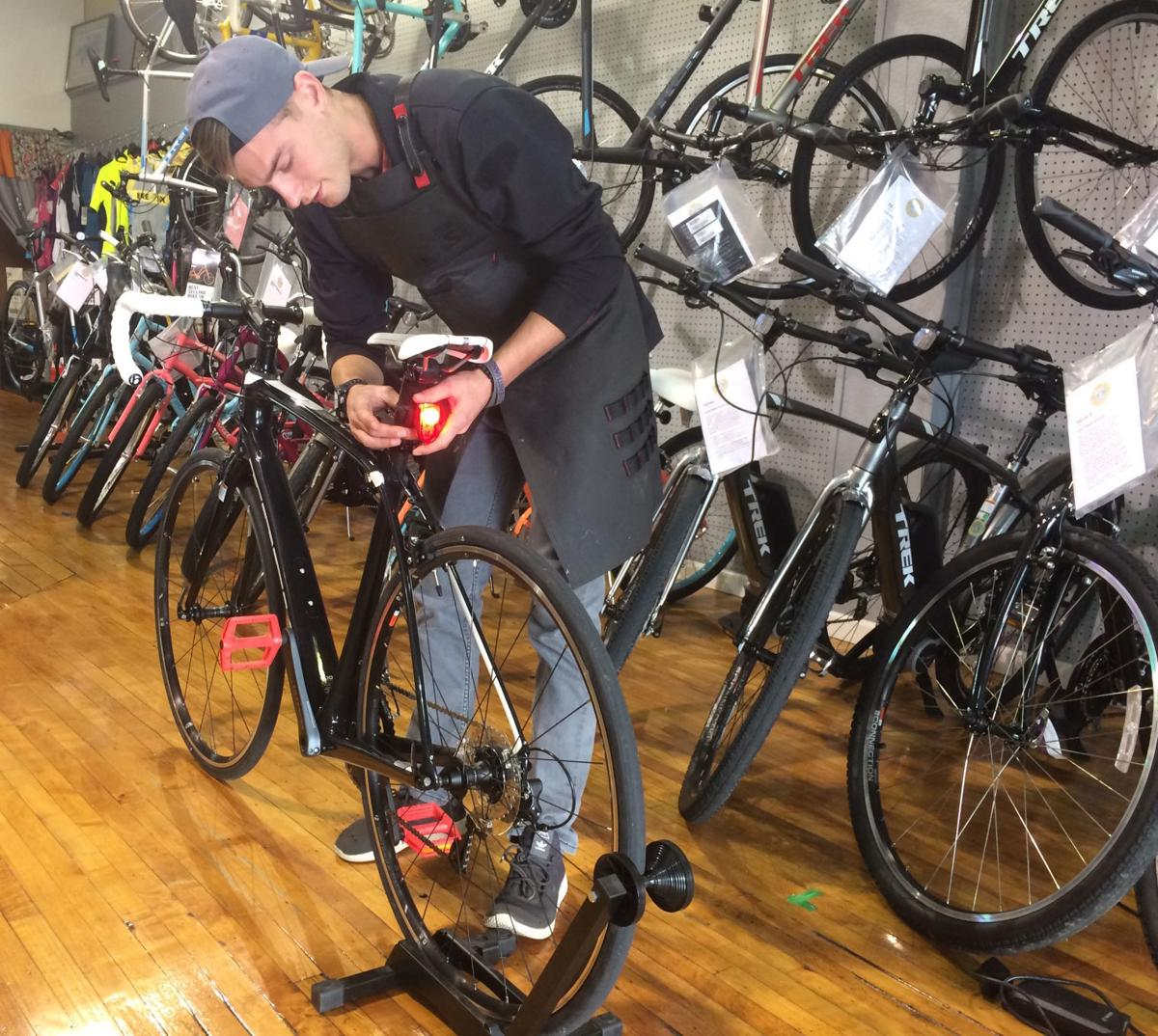 Bike safety program being put on by Neighborhood Watch group