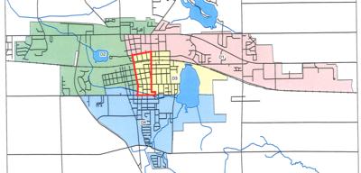 Kendallville District Map