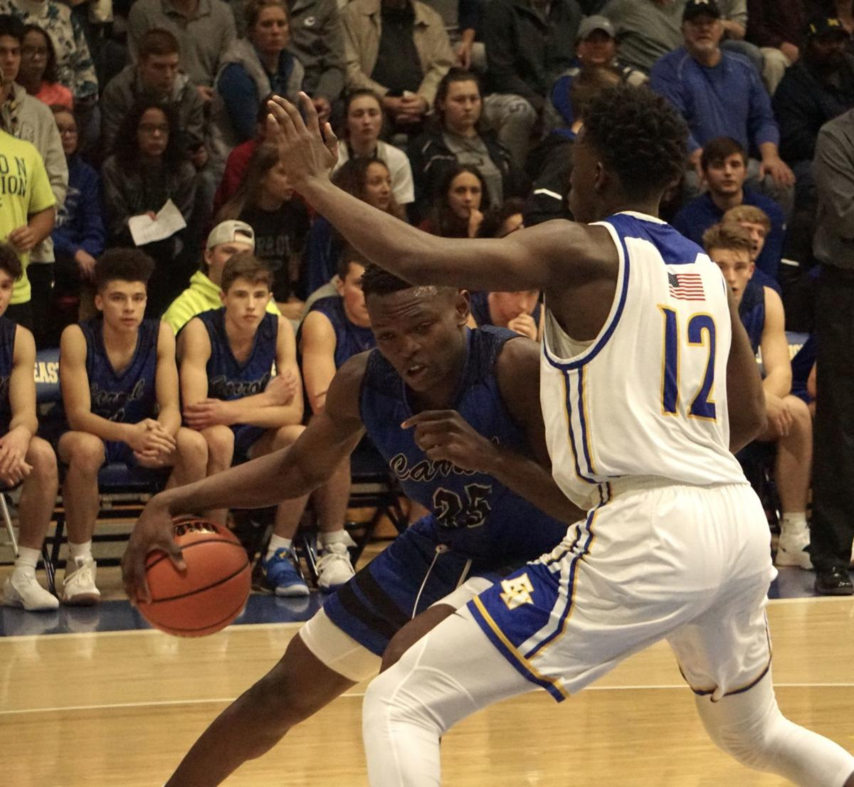 Image result for east noble carroll basketball 2018