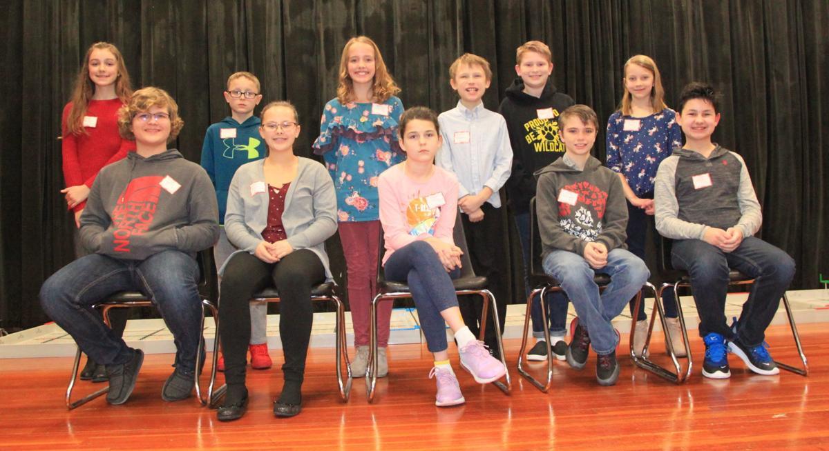DeKalb County spelling bee contestants