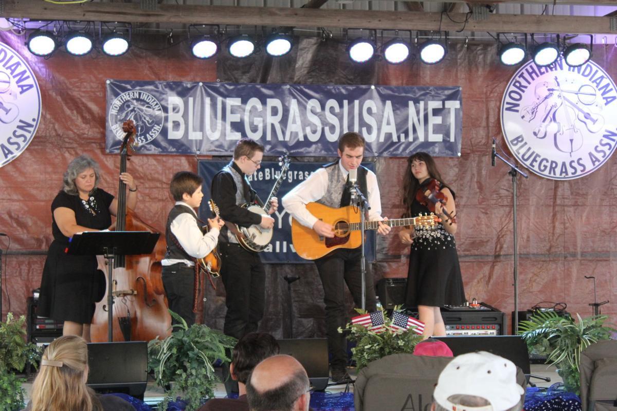 Kentucky Just Us plays Bluegrass Fest