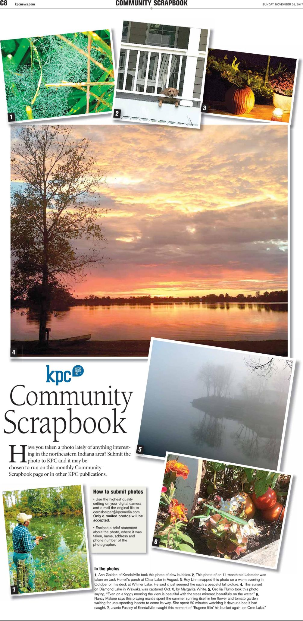 November Scrapbook