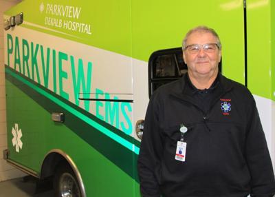 Paramedic Jerry Schwartz