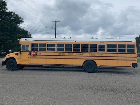 Bus stolen
