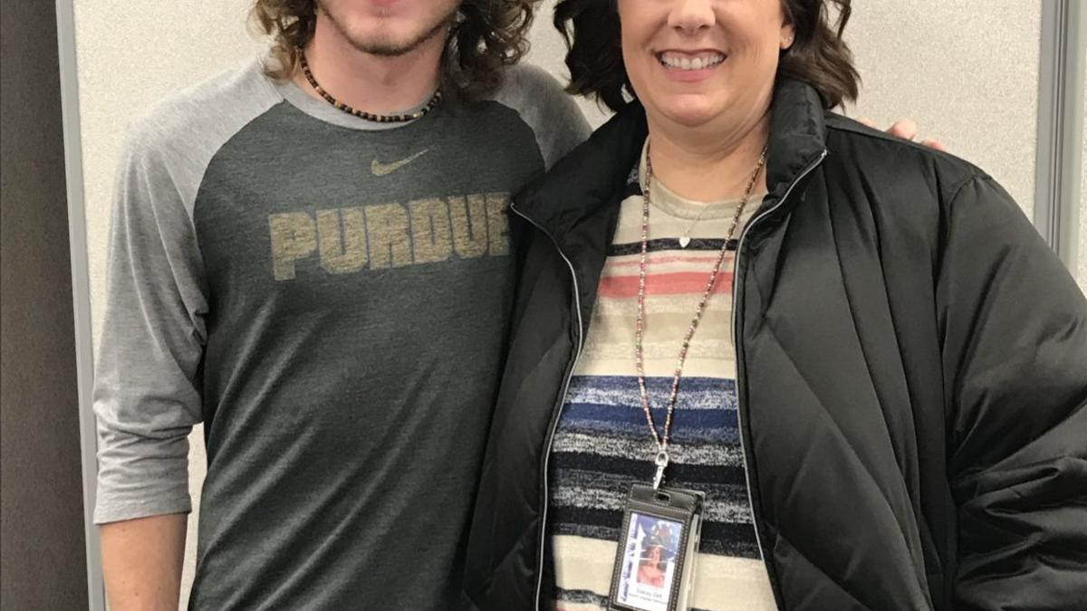 Not settling for 'adequate': Carroll grad overcomes medical conditions, pursues Purdue degree