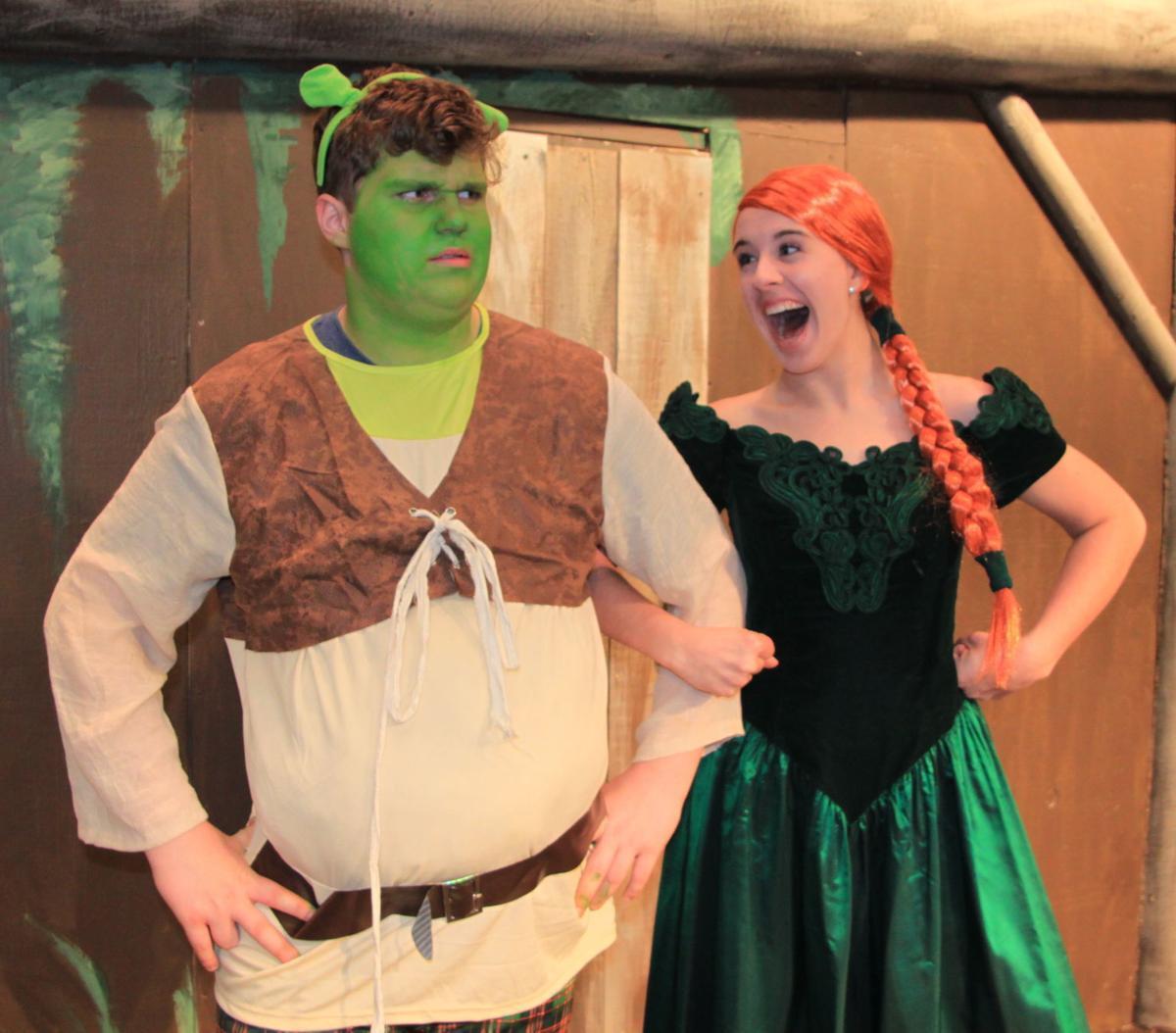 Shrek and Fiona, DeKalb H.S.