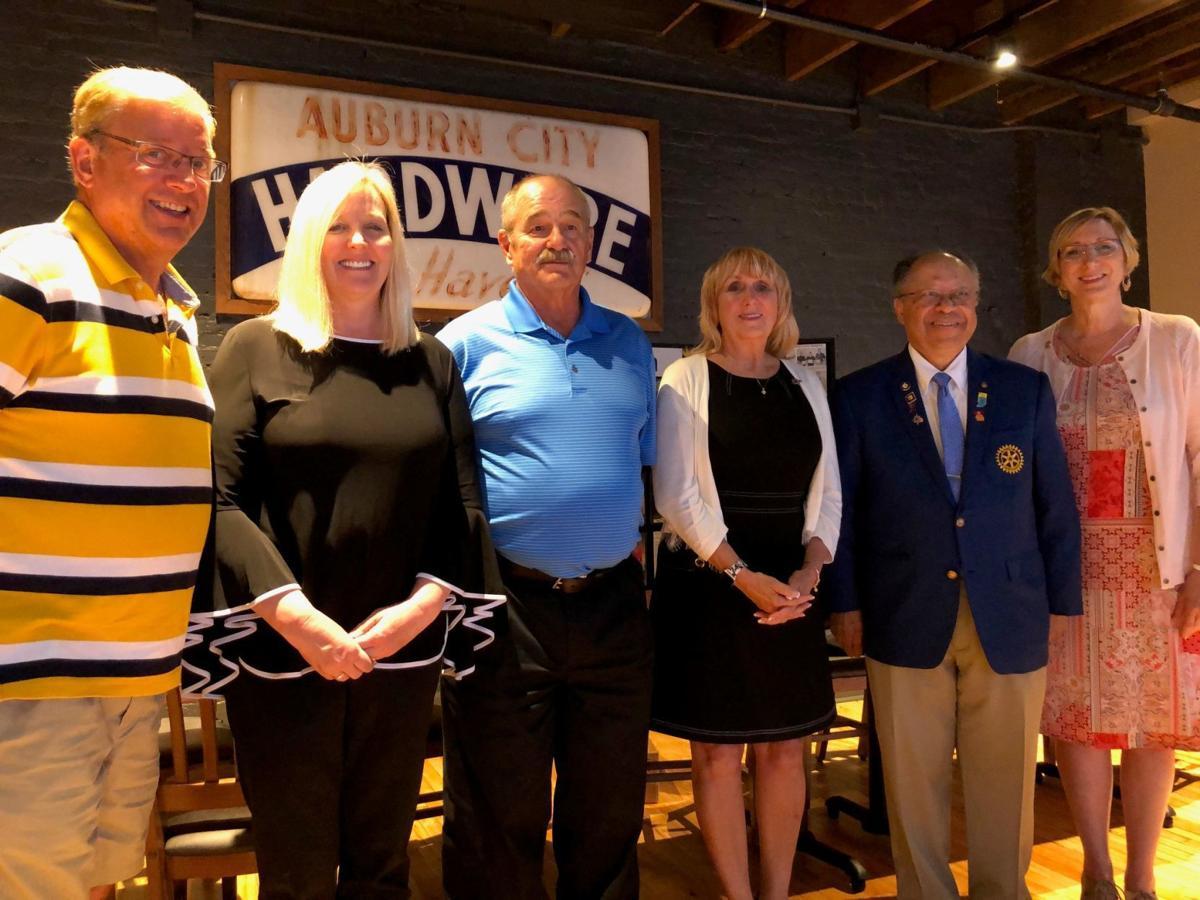Auburn Rotary Club officers