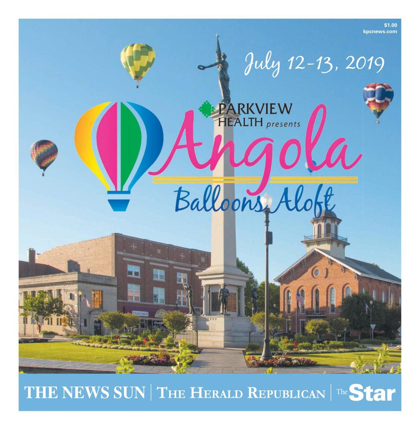 2019 Angola Balloons Aloft