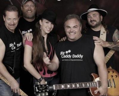 Caddy Daddy An Auburn Based Rock Band Will Perform Tonight At 7 30 P M The Dekalb Outdoor Theater In From Left Are Doug Lude Gary Wright